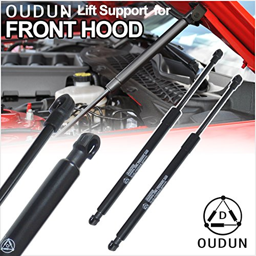 - VIOJI Brand New 2pcs Front Hood Bonnet Gas Lift Supports Strut Shocks For Lexus 1997-2001 E300 & Toyota 1997-2001 Camry With Ball Stud Mounts