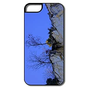 IPhone 5 Shell, Tree Cases For IPhone 5/5S - White/black Hard Plastic