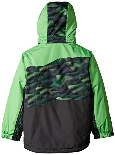 Pop Free Piecing Heavyweight Country Boys' Green Coat with wqqzY8Ox