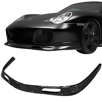 Front Bumper Lip Fits 2001-2005 Porsche 996 911 Turbo Carrera | IK Style Carbon