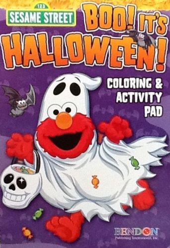 Sesame Street BOO! It's Halloween! Coloring & Activity Flip Top Pad: 7