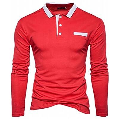 Hot ONTBYB Men's 1 Button Faux Leather Work Solid Suit Jacket Blazer Coat