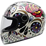 NZI - Casco Integral Must II Mexican Skulls (M)