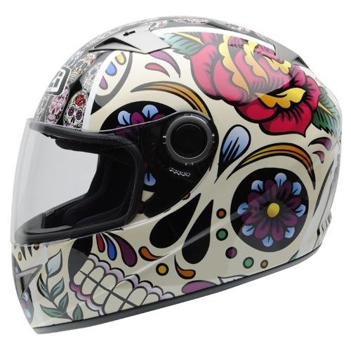 Casco Integral Must II Mexican Skulls XS NZI