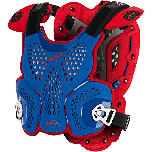 Alpinestars A-1 LE Nations Men's Roost Guard Off-Road Body Armor - Blue/Red / X-Large/2X-Large by Alpinestars