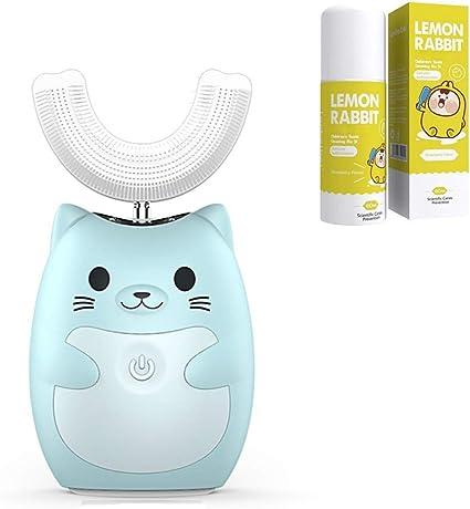 Brosse /à dents intelligente rechargeable avec brosse en forme de U Tasse Brosse /à Dents /Électrique pour Enfant Anself Brosse /à dents en forme de U Brosse /à dents /électrique 3 modes