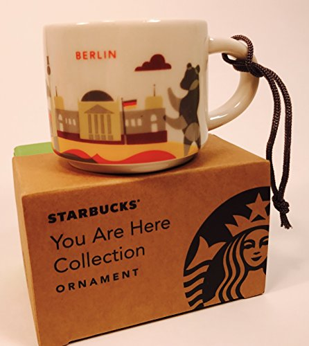 Demitasse Germany (Starbucks Berlin Germany You Are Here Collection Ceramic Coffee Mug Demitasse Ornament 2 oz)