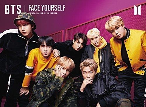 BTS 방탄소년단 FACE YOURSELF(첫 한정반B)(DVD부)