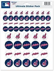 Cleveland Indians Sticker Sheet 8.5&quo