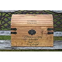Extra Large Wedding Card Chest - Rustic Wooden Card Box - Rustic Wedding Decor - Wedding Card Box - Rustic Wedding Card Box - Wedding Chest