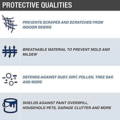Budge Indoor Stretch Car Cover, Luxury Indoor Protection, Soft Inner Lining, Breathable, Dustproof, Car Cover fits Cars up to 157