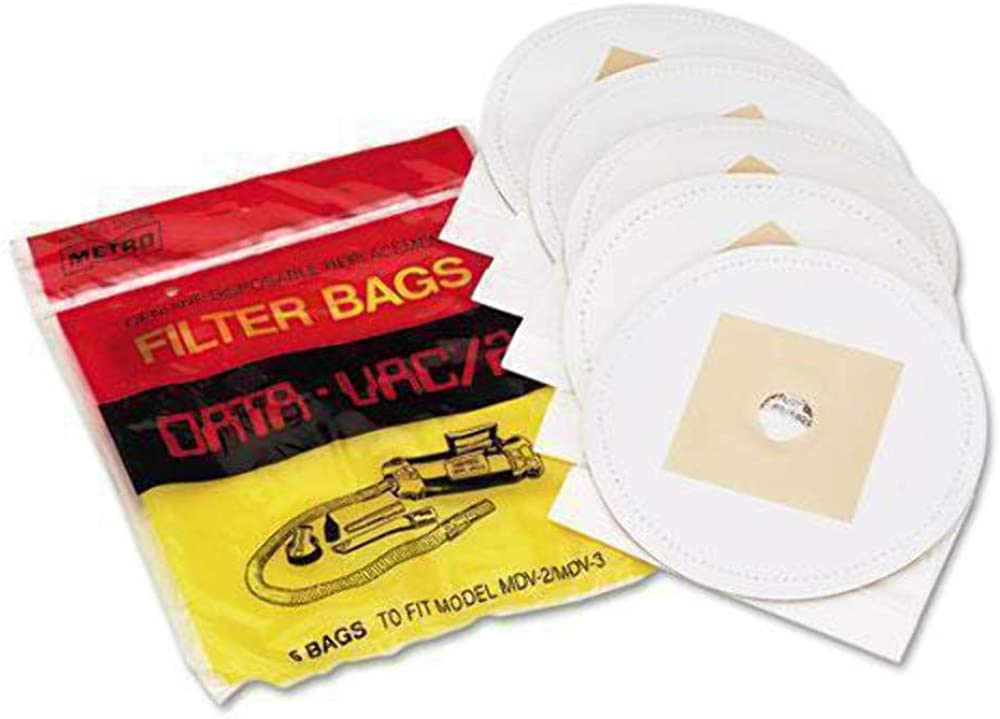 Data-Vac DV-5PBRP Disposable Bags for Pro Cleaning Systems- Package of 5 Bags.