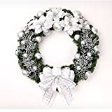 Christmas Garland for Stairs fireplaces Christmas Garland Decoration Xmas Festive Wreath Garland with Christmas wreath Garland,60cm