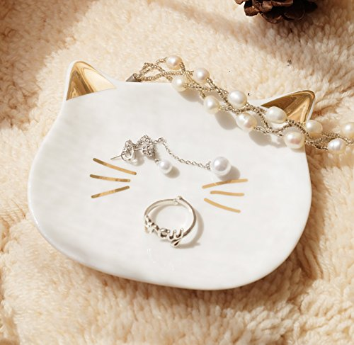 Pudding Ring (PUDDING CABIN Kitty Cat Mini Ring Dish Holder Plate)