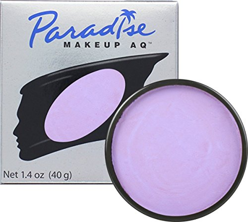 Mehron Makeup Paradise AQ Face & Body Paint, PURPLE: Pastel