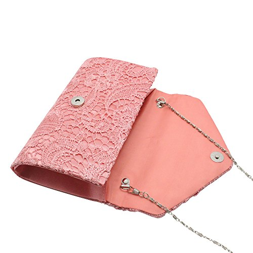 Wiwsi Evening Bag Clutch Party Floral Purse Nice Handbag Bridal Women Lace Lady rxqTPA1zrw