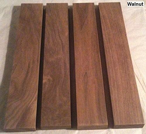 "Beutiful 4 Black Walnut Lumber  1/"" x 4/"" x 12/"" 4 Pack Set FREE SHIPPING!!!"