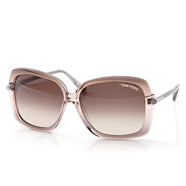 6741f0897dc15 Image Unavailable. Image not available for. Color  Tom Ford FT0323 74F  PALOMA Lilac Gradient Square Sunglasses