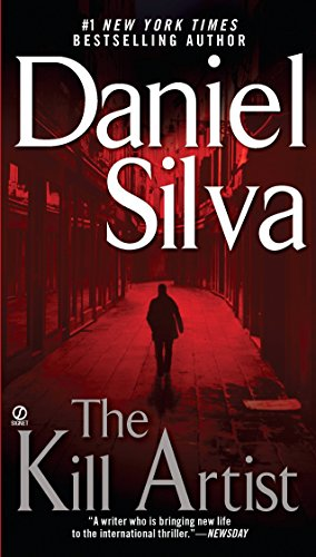 Book cover from The Kill Artist by Daniel Silva
