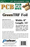 "Printers TONER REACTIVE FOIL GREEN 8""x15' (1 piece)"