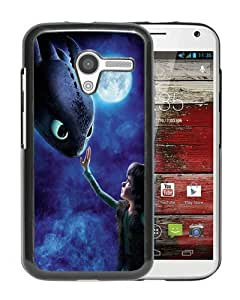 WANY Beautiful Classic How To Train Your Dragon 1 Black Moto X Case