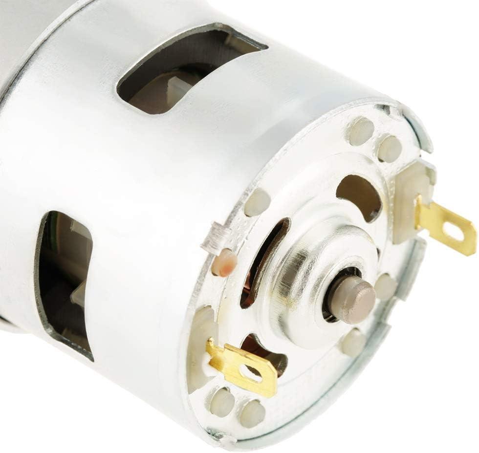 775 12V 12000 RPM Motor sin escobillas de metal DC de alta velocidad en miniatura para herramienta el/éctrica destornillador