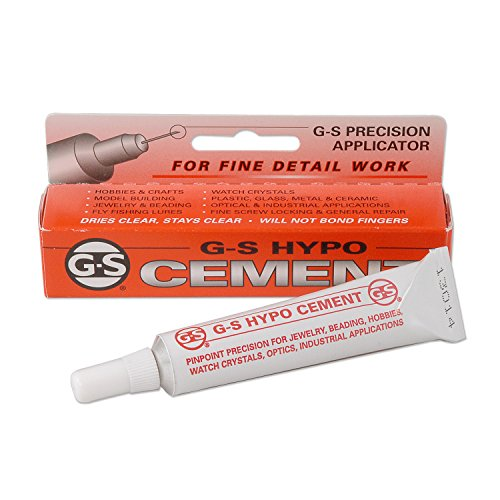 Crystal Cement - G-S Hypo-Tube Cement 1/3oz.