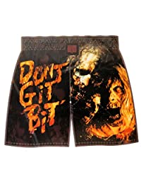 """The Walking Dead Mens Boxer Shorts Don't Get Bit (Small 28-30"""")"""