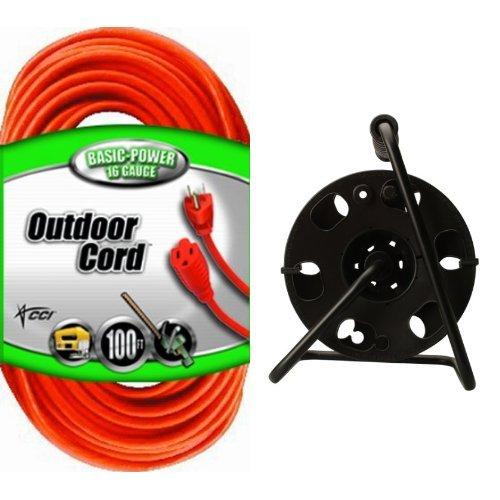 100 foot extension cord reel - 9