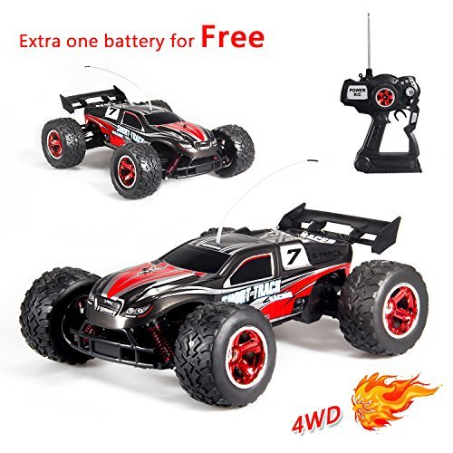 GP NextX RC Cars S800 1/12 4WD 20+MPH High Speed Remote Control Off Road Monster Truck Electric Racing ( Red ) [並行輸入品] B0784NMVR3