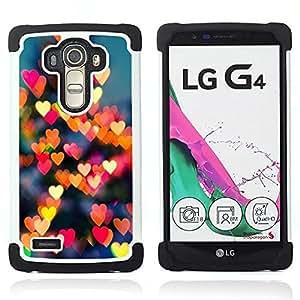 For LG G4 H815 H810 F500L - love lights new York love city Dual Layer caso de Shell HUELGA Impacto pata de cabra con im??genes gr??ficas Steam - Funny Shop -