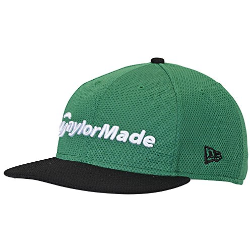(TaylorMade Golf 2017 performance new era 9fifty hat green/black)
