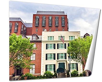 Amazon com: Ashley Giclee Fine Art Print, Blair House