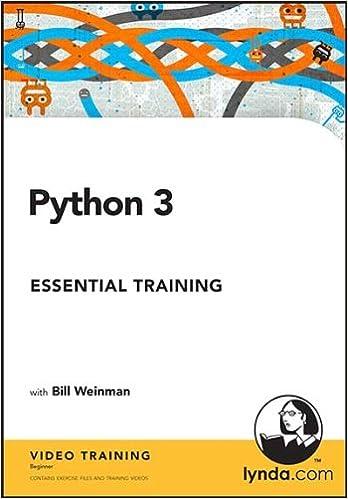 python 3 essential training with bill weinman