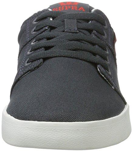 Dk Grey white Uomo Stacks Supra Sneaker Grau II 6wqvaqZ