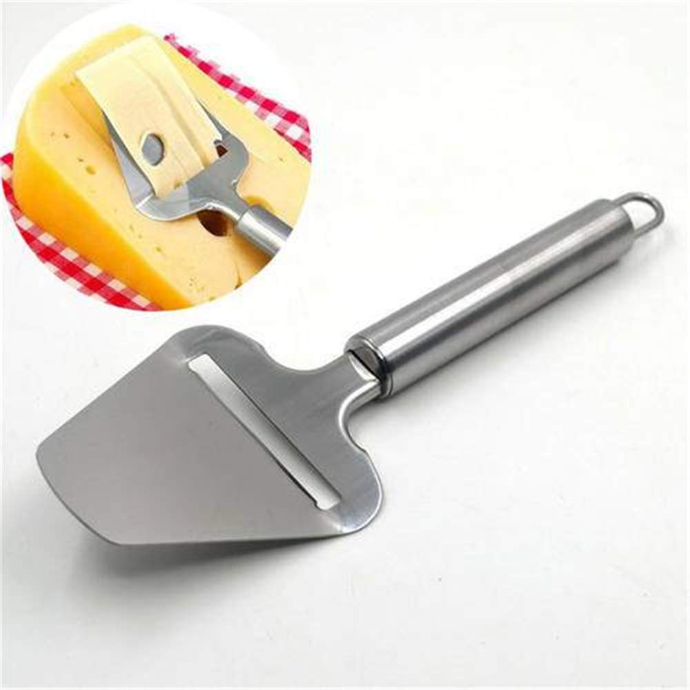 Amazing Stainless Steel Cheese Plane Slicer Butter Grater Cutter with Handle