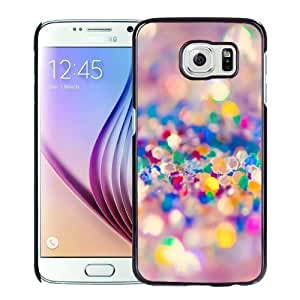 New Personalized Custom Designed For Samsung Galaxy S6 Phone Case For Colorful Sands Phone Case Cover