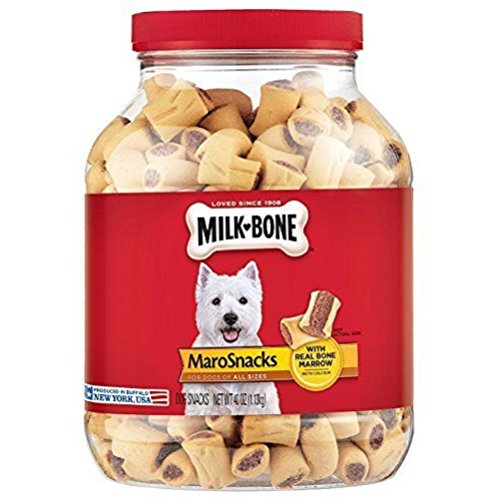Dog Diet Milk (Milk-Bone Tasty and nutritious with real bone marrow MaroSnacks Dog Treats for All Sizes Dogs,)