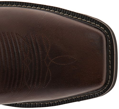 Original Brown Waxy Men's Stampede Cowhide Justin Boots Work Boot d0BdYgx