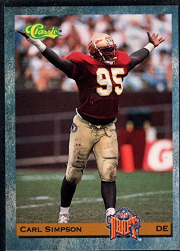 (Football NFL 1993 Classic #96 Carl Simpson Bears)