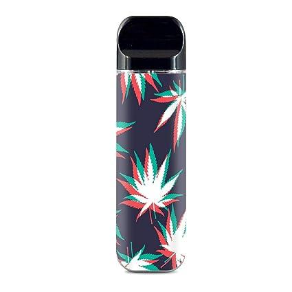IT'S A SKIN Decal Vinyl Wrap for Smok Novo Pod System Vape Sticker Sleeve  Cover / 3D Holographic Week Pot Leaf