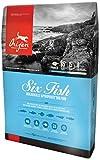 Champion Pet Foods, Orijen Dog 6 Fish, 13 Pound