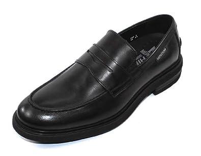 3f1d8594102 Mephisto Men s Orelien Penny Loafer Black Leather 7.5 M US