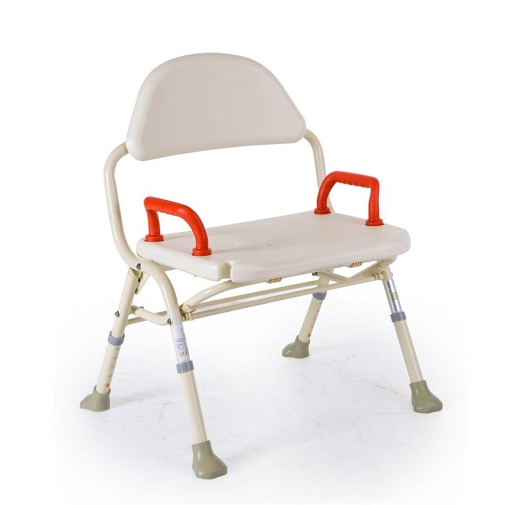 特別オファー 高齢者用シャワーチェア高級アルミ製バススツール妊婦と障害者シャワーシートスツール B07DSC4NCM B07DSC4NCM, タカハルチョウ:1f240ec3 --- jeffyradesign.com.br