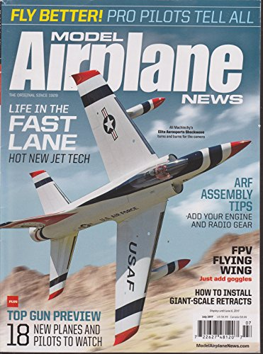 (Model Airplane News Magazine July)