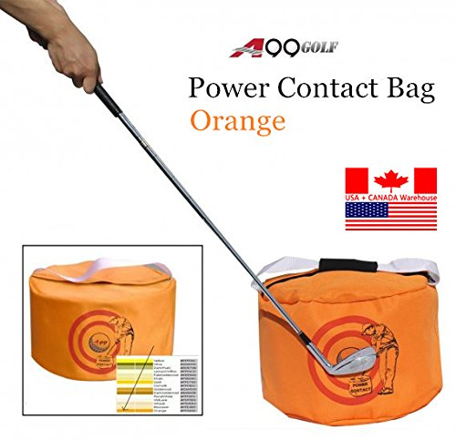New Golf Swing Training Aids Golf Impact Contact Power Smash Bag ()