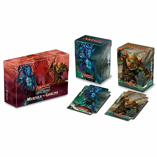 Merfolk VS Goblins Duel Deck Box For Magic the Gathering Ultra Pro MTG