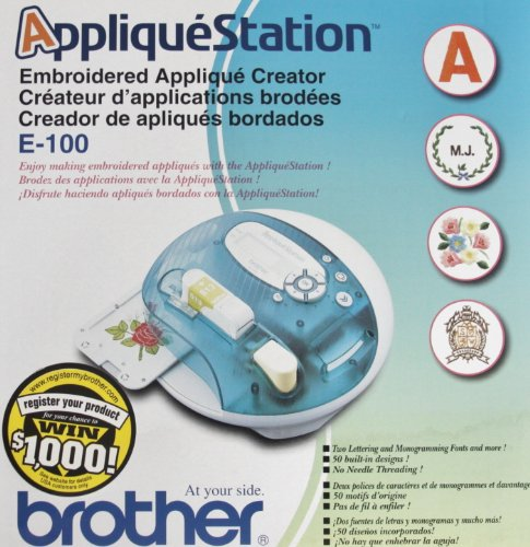 Brother e embroidery applique station import it all