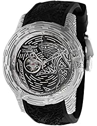 Men's 26425 S1 Rally Automatic 3 Hand Black Dial Watch