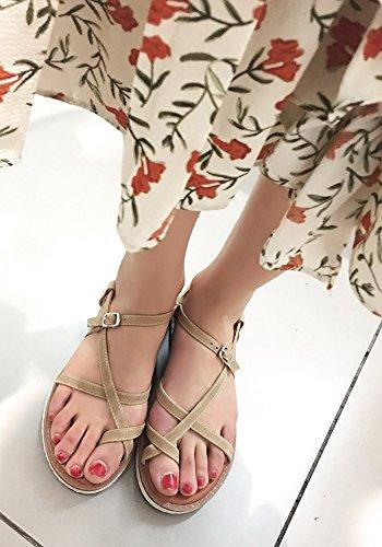 Femme De Simple Plage L Chaussures Aisun PBFOdqwP